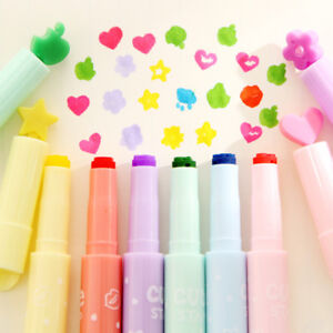 Image Is Loading Creative 3Pcs Set Cute Candy Color Inks Stamp