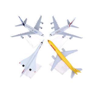 Piano Concorde Modello Aereo Diecast Aeromobile Aeroplano GIOCATTOLI gifh 4