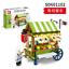 Baukaesten-Sembo-Verkauf-Autohaus-Gebaeude-Figur-Spielzeug-Geschenk-Modell-Kind Indexbild 6