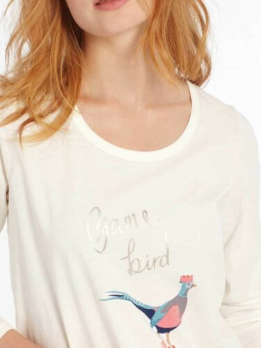 Sizes Tee Long 16 Design 8 Sleeve Graphic Game Joules Uk Bird Aubree qIwgP8