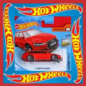 Hot-Wheels-2018-039-17-Audi-RS-6-avant-271-365-neu-amp-ovp