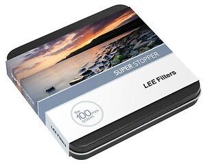NEW-100mm-Lee-Super-Stopper-15-stop-ND-Filter-for-Lee-foundation-kit-100x100mm