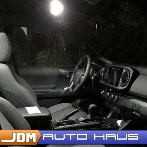 13x White LED Lights Interior Package Kit Fits 2016-2017 Honda Pilot