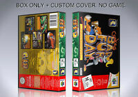Conker's Bad Fur Day. Pal. Box/case. Nintendo 64. Box + Cover. (no Game).