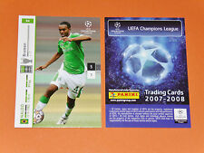 NALDO BRASIL WERDER BREMEN FOOTBALL CARDS PANINI CHAMPIONS LEAGUE 2007-2008