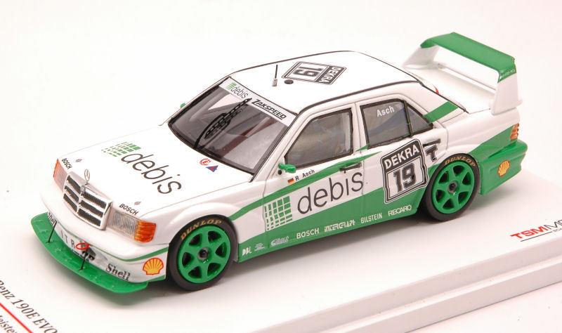 Mercedes 190e evo2   19 dtm 1991 eingerichtet 1 43 modell ausmaß miniaturen.