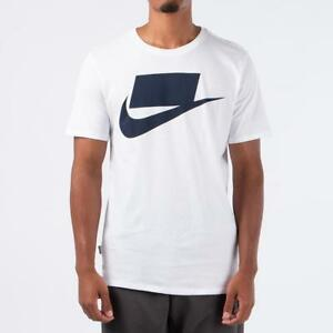 30063a51 NEW 927392 100 MEN'S NIKE FUTURA BLOCKED T-SHIRT !! WHITE | eBay
