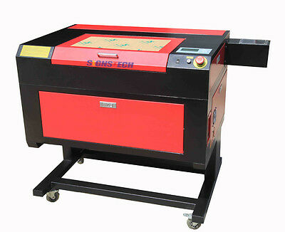 PROMOTION! New 30cmx50cm 60W CO2 Laser Engraver Cutting Machine,LeadCNC DSP