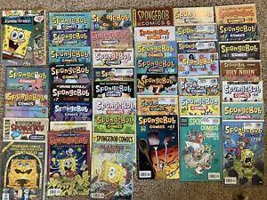 Huge Spongebob Comic Lot TPB graphic novel Issues 1 2 3 4 7 13 14 15-83 Annuals