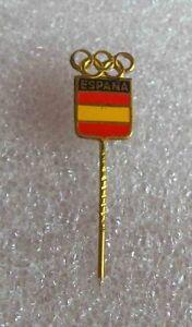 Rare Vintage olympic pin badge NOC SPAIN 1970 Generic