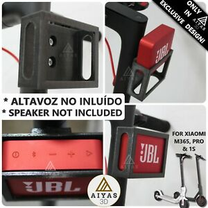 SOPORTE-BRACKET-PARA-JBL-GO-2-for-Xiaomi-M365-PRO-amp-1S-Speaker-3D-Print