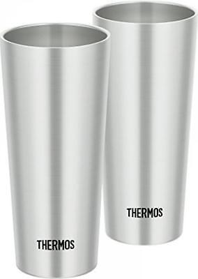 THERMOS Vacuum Insulation Tumbler 400ml 2pcs set stainless steel JDI-400P S*