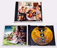 Ys I & Ii Chronicles - Musical Soundtrack Cd Brand Sealed