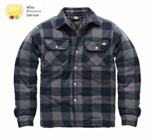 Dickies-Hombre-Portland-Workwear-Trabajo-Camisa-Informal-SH5000-Azul-Marino