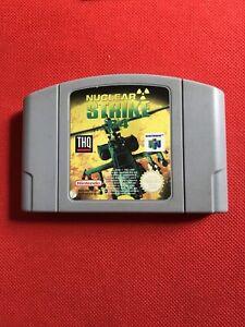 Jeu Nintendo 64 N64 :  NUCLEAR STRIKE 64. EUR