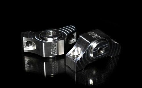 Polished For 92-00 and 94-01 Blackworks Racing Solid Billet Torque Mounts
