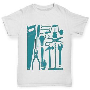 Twisted-Envy-garcon-les-outils-de-masse-construction-Imprime-T-shirt-en-coton