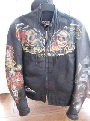 Biker Jacket Very Rare 163 1500 Painted Famous A List Rock