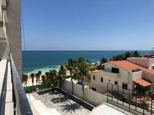Estudios tipo hotelero de 76 m2, para renta vacacional en la Riviera Maya con Playa, completament...