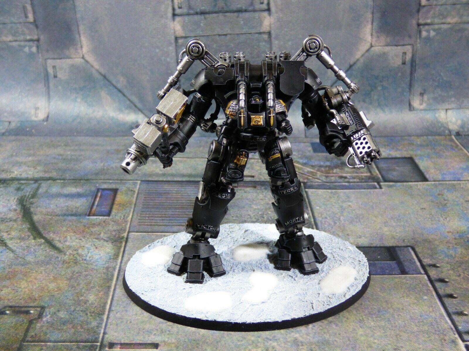 gris Knights Nemesis Dreadknight Space Marine Games Workshop bien peint  (Y691)  réductions incroyables