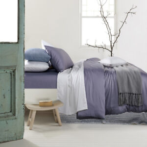 All Size Bed 2000TC No-Iron Cotton Rich 4PC Fitted Flat Sheet Set