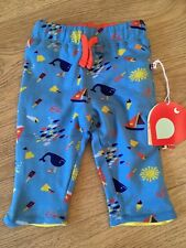 18a562250688 Boys Piccalilly Blue Seaside Reversible Shorts Organic Cotton For Infants