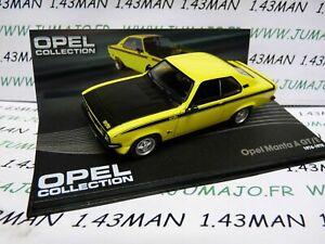 OPE40R-1-43-IXO-designer-serie-OPEL-collection-Opel-MANTA-A-GT-E-1974-1975