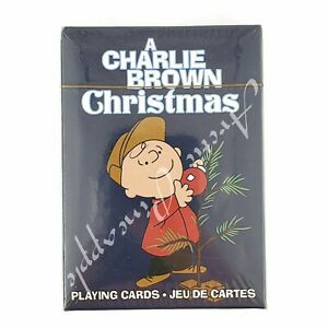 A-Charlie-Brown-Christmas-52-Playing-Cards-Collection-New-In-Package