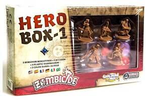 Zombicide Black Plague Hero Box 1 - Guillotine Games 889696001849