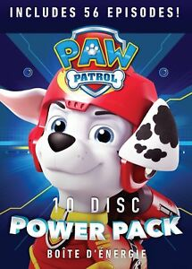 4a64bed6a6 PAW Patrol 10-Disc Power Pack - 56 Episodes [DVD Box Set, Family ...