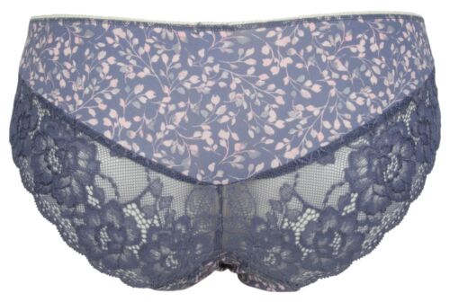 Ex Store Ladies Multipack Floral Print Lace Back Brazilian Knickers