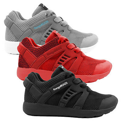 KangaROOS Xcape Schuhe Kinder Sneaker Turnschuhe 10073 Power Court Lace Coil Run