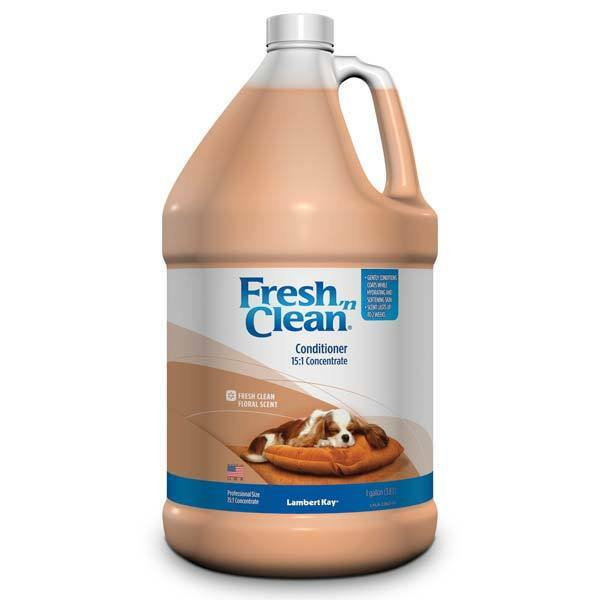 Fresh Floral Conditioner Professional Dog & Cat Concentrate Gallon Repairs Hair