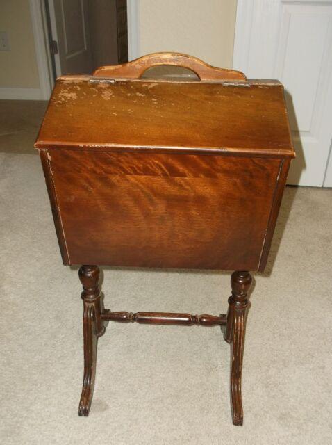 Antique Sewing Basket With Legs Best 2000 Antique Decor
