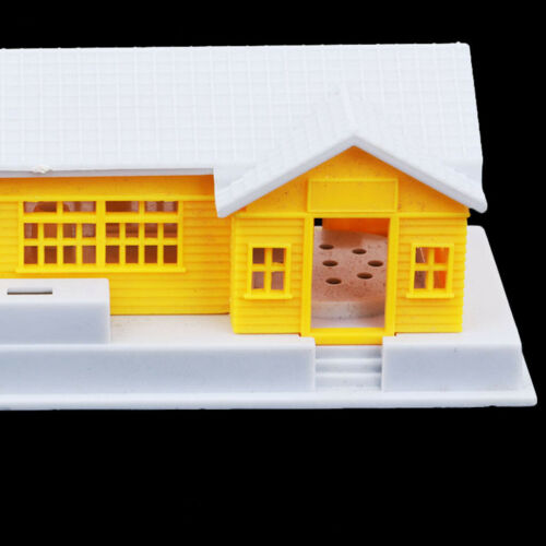 HO Scale Building Countryside House for 1:87 Gauge Model Train Layout Kit