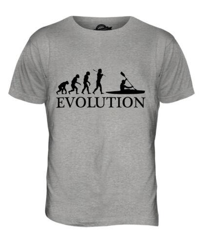 KAYAK EVOLUTION OF MAN MENS T-SHIRT TEE TOP GIFT CLOTHING KAYAKING