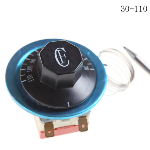 220V 16A Dial Thermostat Temperature Control Switch for Electric Oven JS
