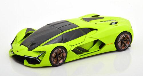 1:24 Bburago Lamborghini terzo millennio 2019 lightgreen