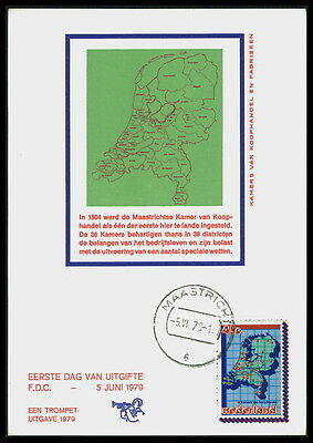 AnpassungsfäHig Niederlande Mk 1979 Handelskammer Maximumkarte Carte Maximum Card Mc Cm Bd71