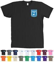 Israel Coat Of Arms Shirt Emblem Shield Tee - More Colors