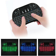 New 2.4G Backlit Wireless Touchpad Keyboard Air Mouse For PC Pad Android TV Box