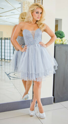 Party Evening Formal Wedding Bridesmaid Ladies Womens New Maxi Mini Dress