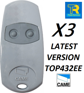 3-X-AUTHENTIC-ORIGINAL-CAME-TOP432EE-REPLACES-432NA-and-432EV