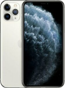 Apple iPhone 11 Pro 64GB Silver LTE Cellular AT&T MW9D2LL/A