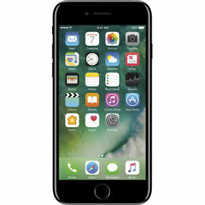 Apple iPhone 7 256GB Unlocked GSM Phone - Jet Black (Dents/Scratches)