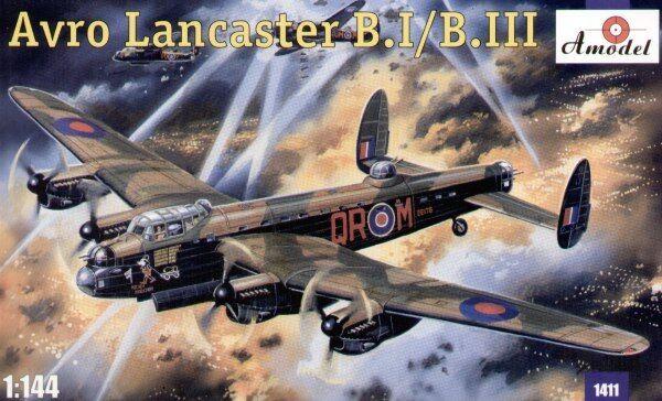 Amodel 1 144 Avro Lancaster B.I   B.III