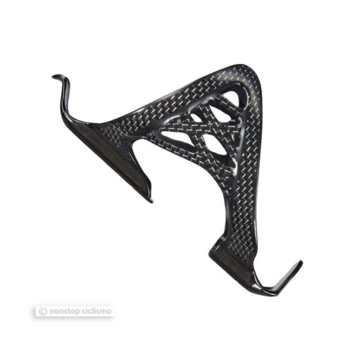 SILVER Supacaz SPIDER CAGE CARBON Bicycle Water Bottle Cage