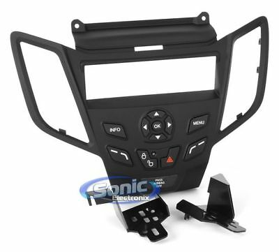 Metra 99-5821B Single or Double DIN Installation Dash Kit for 2010 Ford Fusion and Mercury Milan Matte Black
