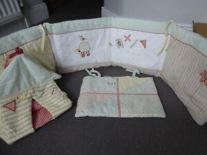 Papas Whirligig Neutral Nursery Bedding