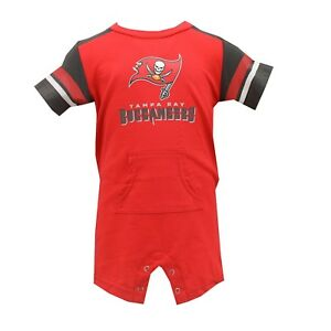 best service ed03b 5c82f Details about Tampa Bay Buccaneers NFL Official Apparel Infant Baby Creeper  Bodysuit New Tags